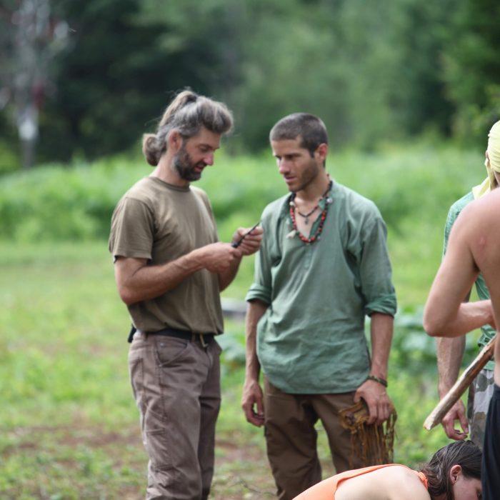 Charles and Mat at Rewild
