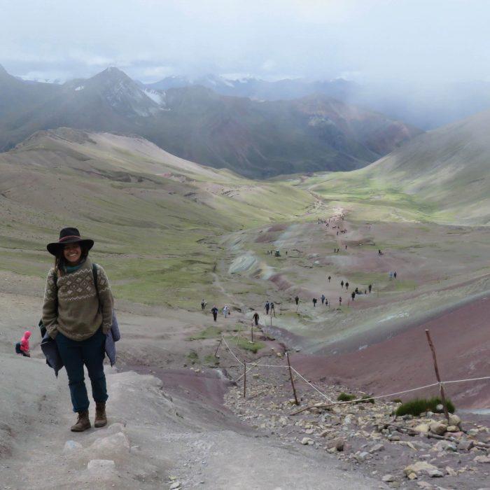 The Rainbow mountain, Peru Journey