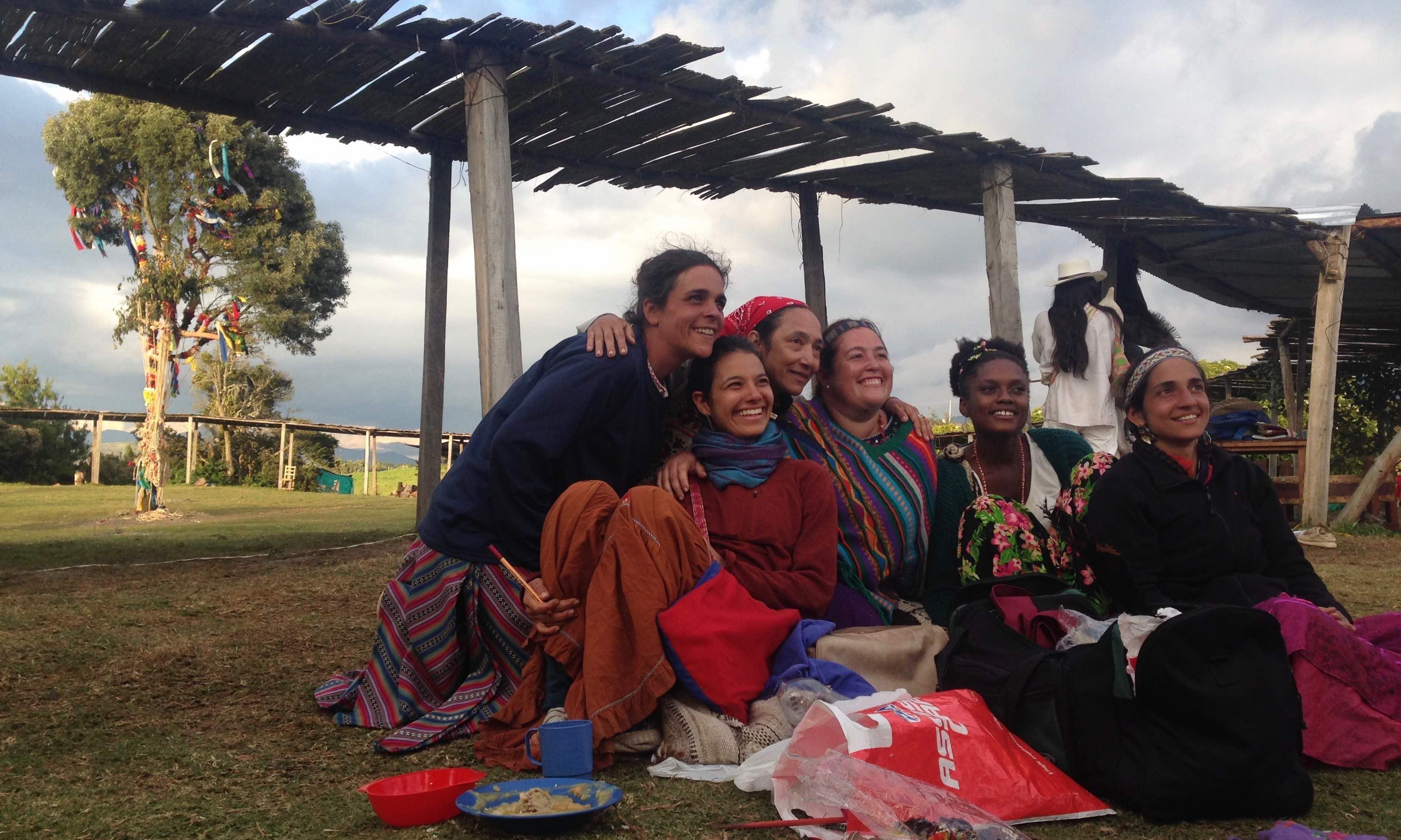 Sun dance in Colombia
