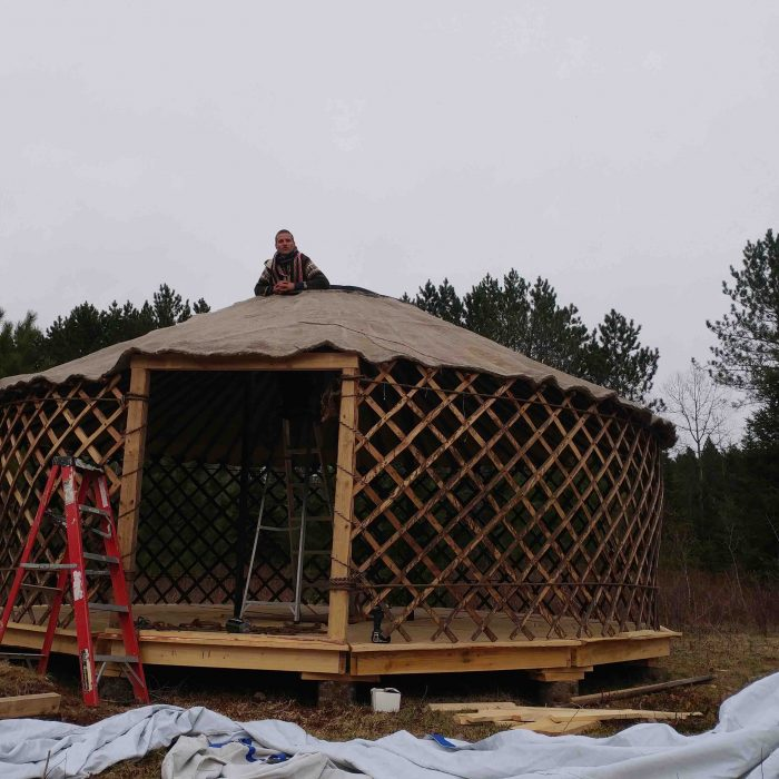 The big Yurt!